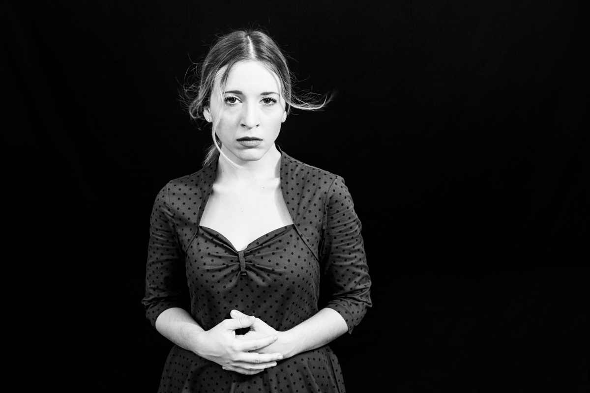 Boccabella fotografia - Ingrid, attrice- foto di scena-7