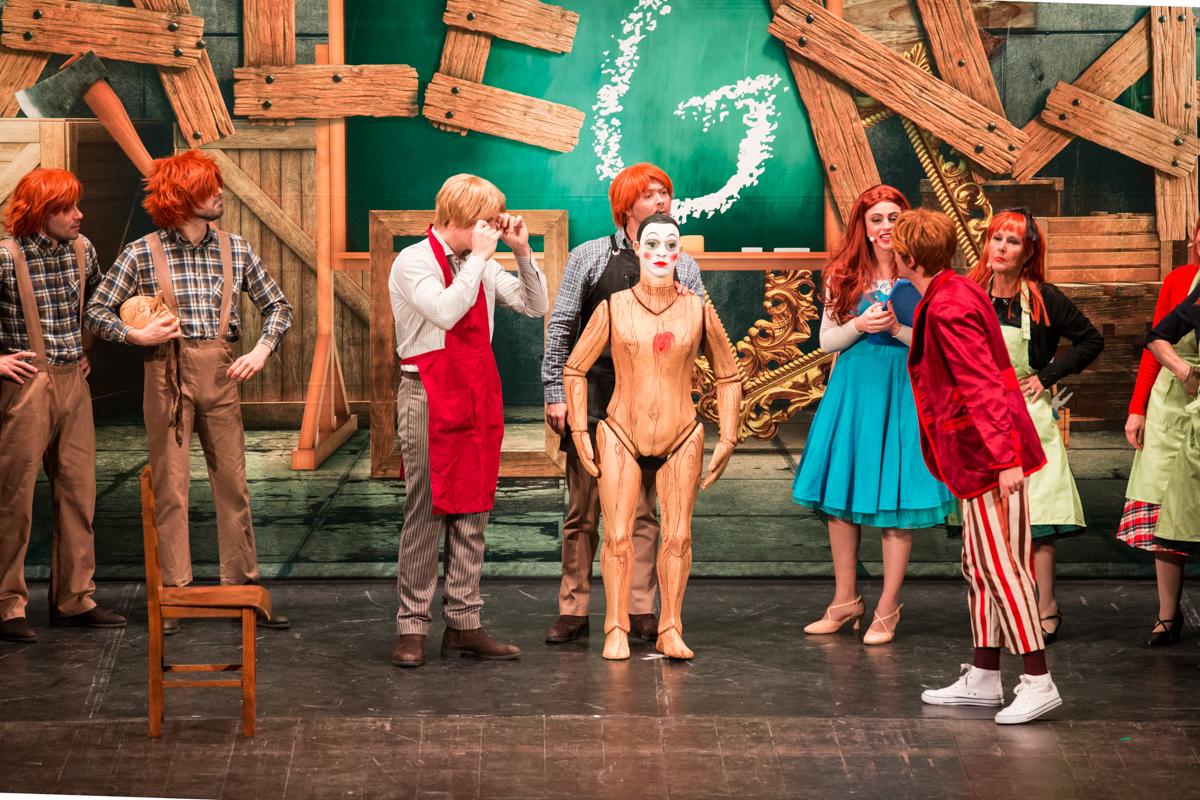 Boccabella fotografia - Musical Pinocchio- foto di scena-1