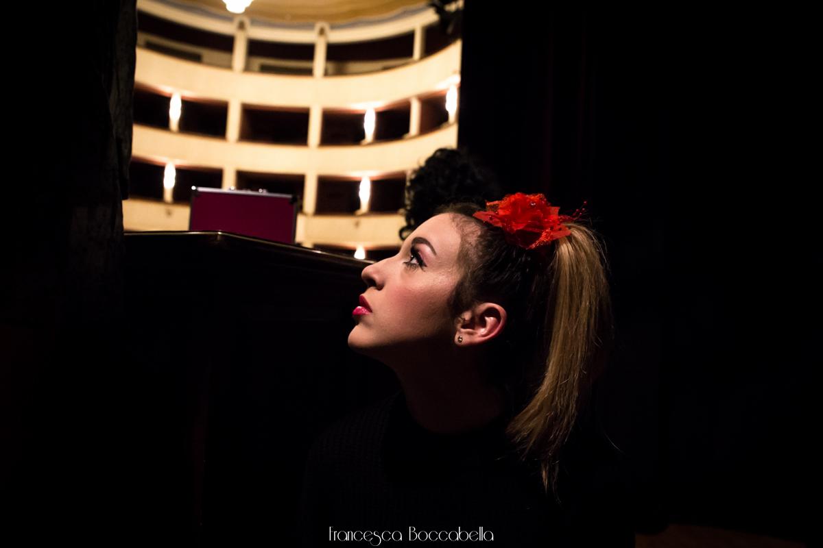 Boccabella fotografia - Anna, attrice- foto di scena-2